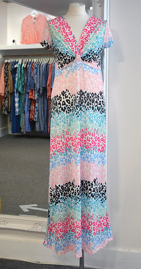 Luella Animal Print Maxi Dress