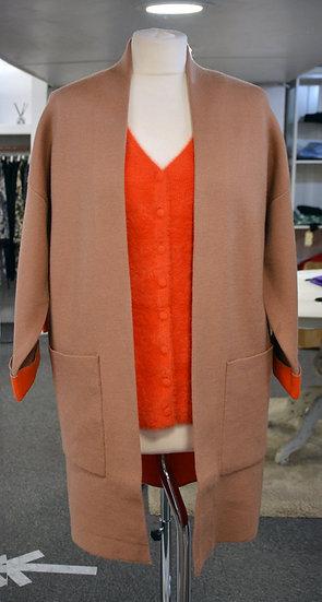 Rino & Pelle Chestnut/Orange Cardigan