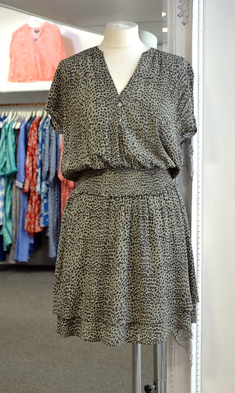 Rails Carla - Olive Lynx Speckled Dress