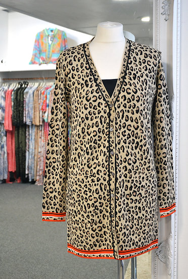 Rino & Pelle Leopard Cardigan