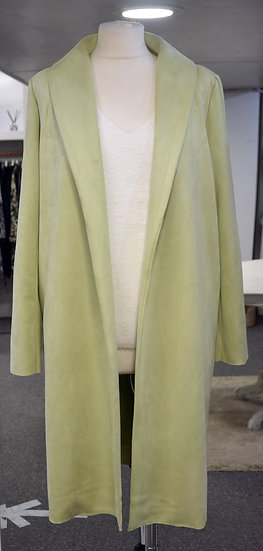 Rino & Pelle Lime Green Suede Jacket