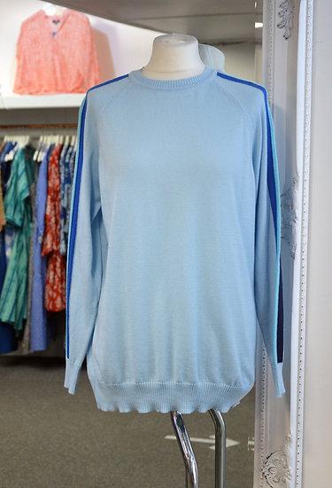 Luella Blue Arm Stripe Cotton Jumper - 2 Colours Available
