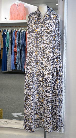 Dream Grey/Orange Sleeveless Dress