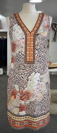 K-Design Leopard Print Sleeveless Dress