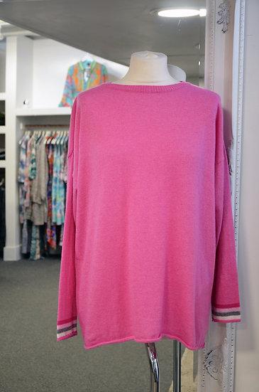 Luella Stripe Detail Cashmere Blend Jumper - 2 Colours Available