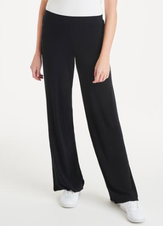 A Postcard From Brighton Pally Palazzo Black Trousers