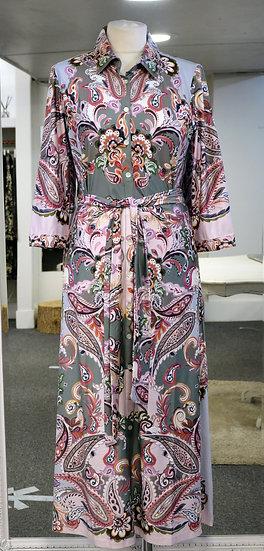 K-Design Paisley Pattern Maxi Dress
