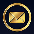 set-gold-business-contact-icons-vector-2