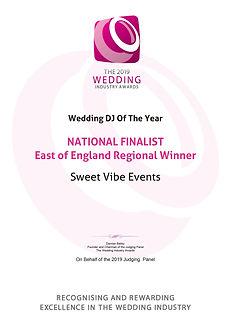Best wedding DJ, Award for best wedding DJ, Price for award winning dj,