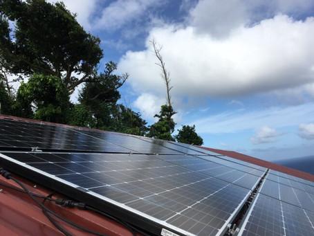 Installing Solar in Dominica