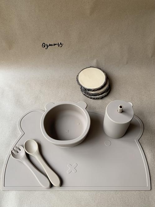 Набор силиконовой посуды Warm Taupe