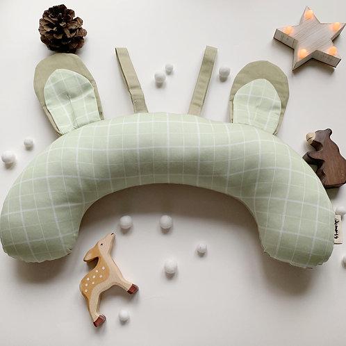 Подушка для игр на животике «Зеленая клетка»