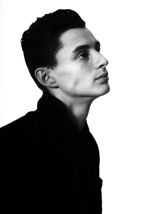 Model Levi Esquivel of The Dreamers MGMT
