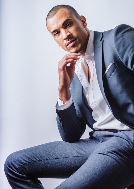 Actor Elando Baltimore