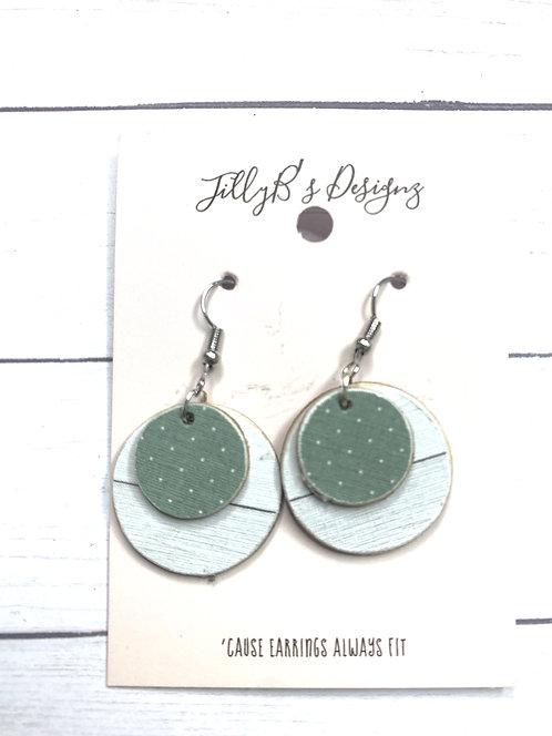 layered farmhouse earrings