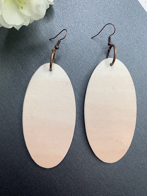 Ombre Blush Ovals