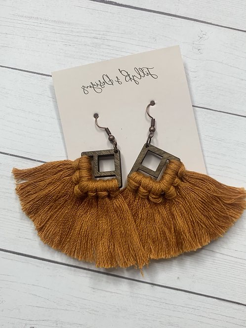 Boho Fringe - Copper