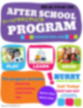 Copy of After school kids program - Made