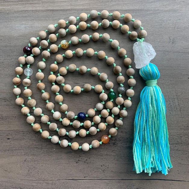 Sandalwood Chakra Multicolored Mala.jpg