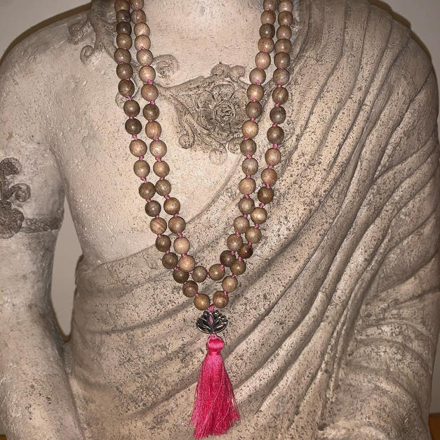Sandalwood Lotus Mala