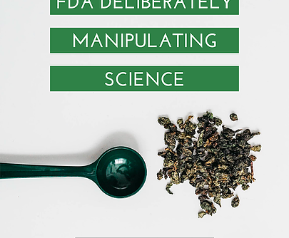 AMERICAN KRATOM ASSOCIATION ACCUSES FDA OF MANIPULATING, OBSCURING, AND IGNORING SCIENCE