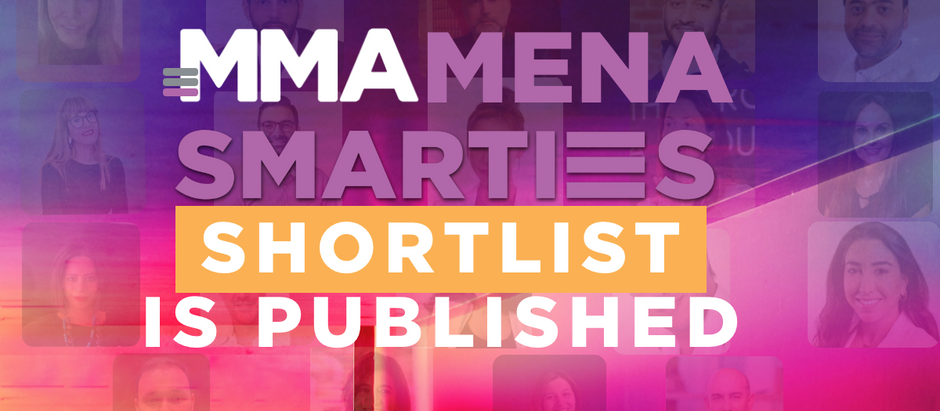 MMA SMARTIES MENA 2020 Shortlist is Published!