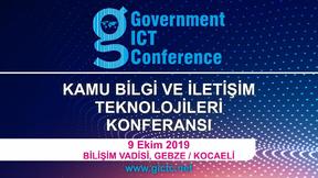 Kamu Bilgi ve İletişim Teknolojileri Konferansı 9 Ekim 2019'da  Bilişim Vadisi'nde gerçekleş