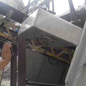 placa magnética pedreira britagem mineração