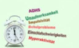 ADHS ADS Konzentrationsstörungen
