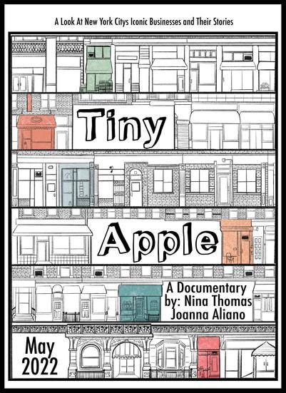 Tiny Apple Poster