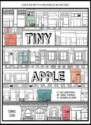 Poster for Tiny Apple Documentary