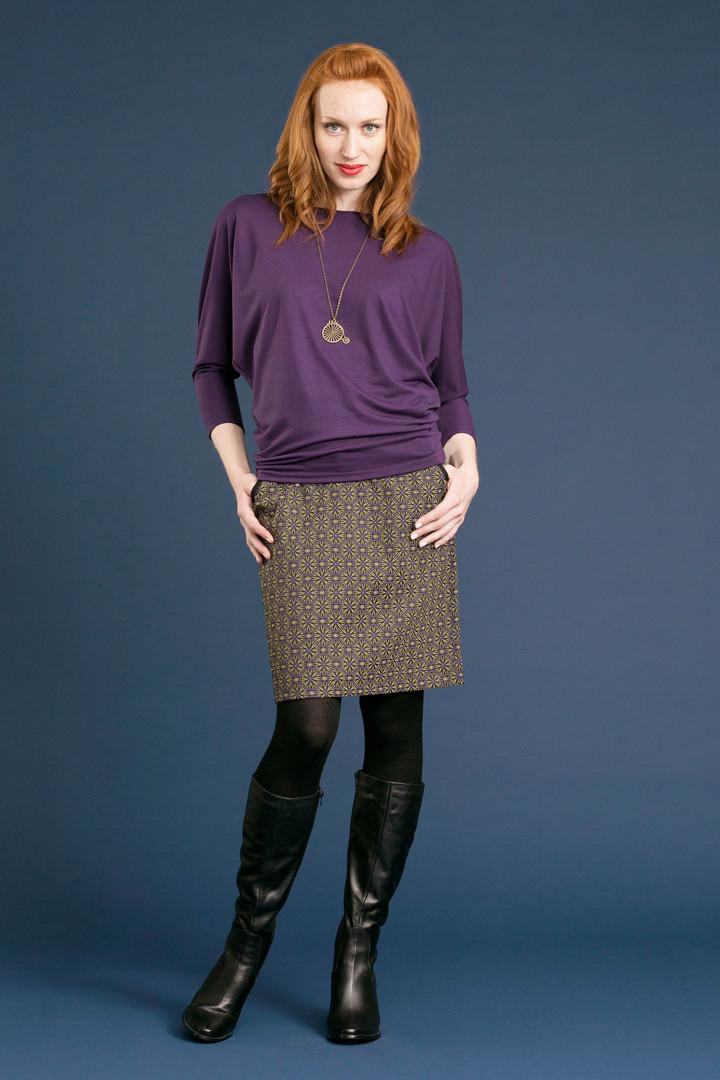 JOEL Slouch Tee - $72 PINA Skirt (F17) - $88.50
