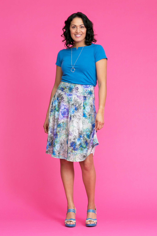 GABLE Tee / JESS Swing Skirt