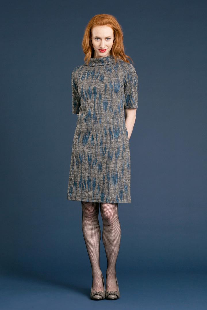 FAYE Collar Dress (front) - $158