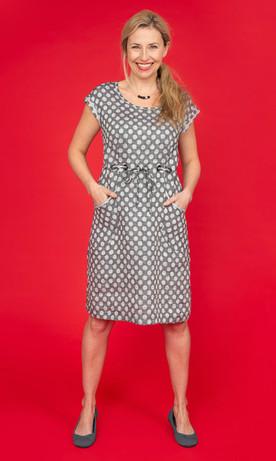HARBOUR Linen Drawstring Dress