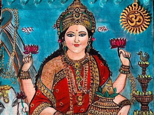 Carolina Filice - Altar de los dioses amados en India