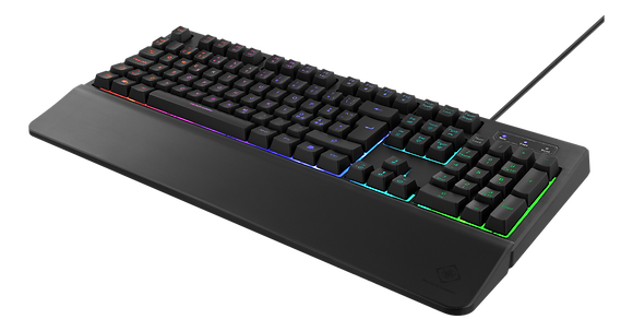 RGB Gaming Keyboard with detachable wrist support