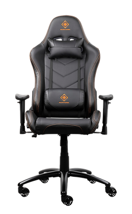 PU-leather Gaming Chair with neck pillow