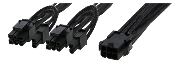 PCI-Express Splitter Cable, 0.3m