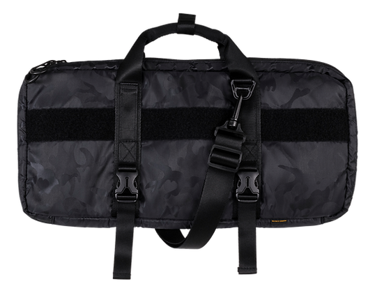 Keyboard protection bag, nylon, black camo