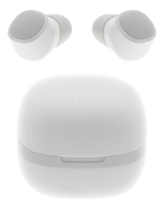 True Wireless in-ear earbuds with charging case
