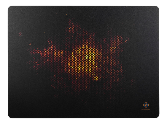 Hard Surface Mousepad with fire motive