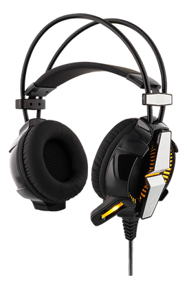 Vibration Stereo Gaming Headset with LED