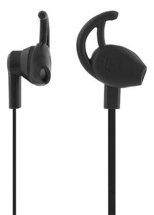 Stay-in-ear headset with media/answer button