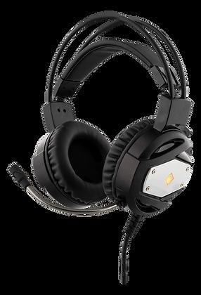 Gaming Headset with orange LED logo