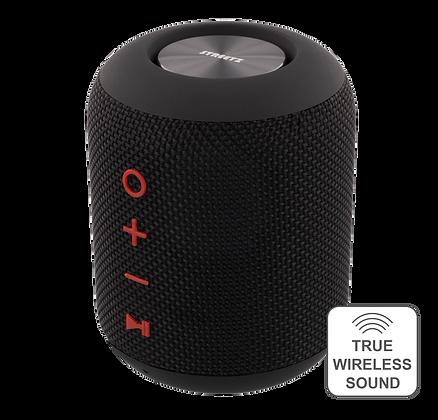 Water resistant Bluetooth speaker, fabric design