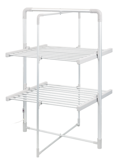 Electrical drying rack, 200W, white