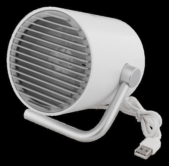 USB desk fan, dual fans