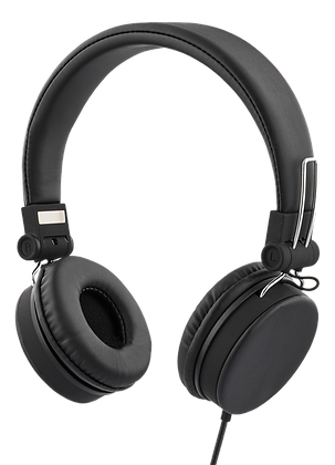 Wired on-ear headset
