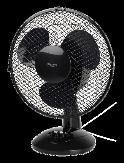 Desk fan, 230mm, two speed setting, 20W, tiltable